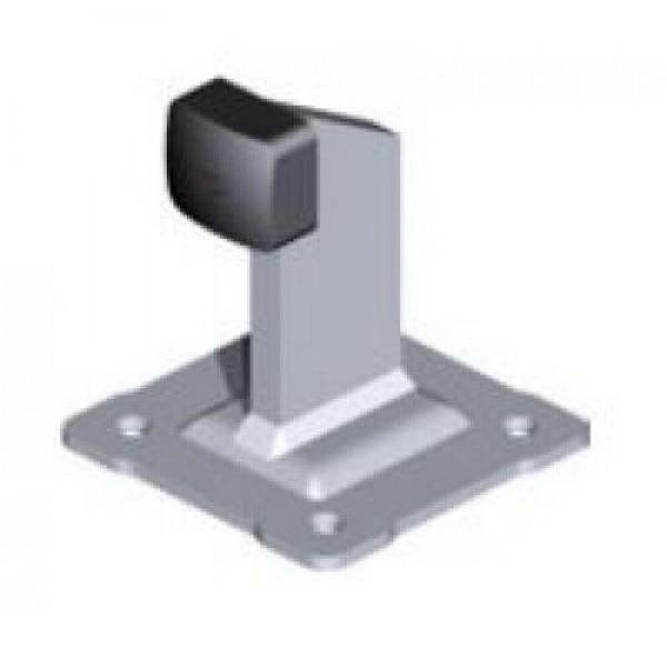 Упор для распашных ворот с резиновым демпфером под анкер