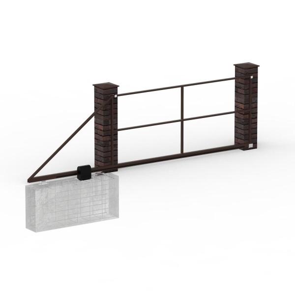 Каркас ворот откатных до 3,5 м