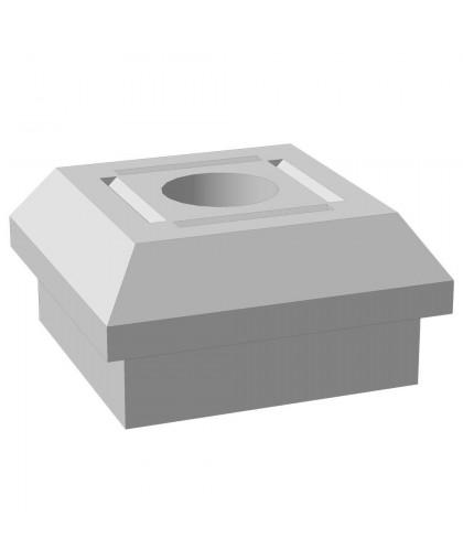 "Основание столба фундамента ""Brick"" глухое 460x460x230 мм"