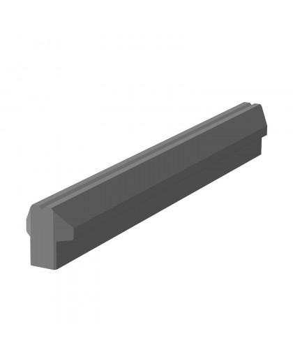 """Ригель фундамента забора """"Brick""""  2850x220х230 мм"""