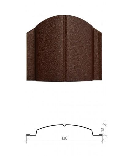 Штакетник металлический Дельта, матовое покрытие