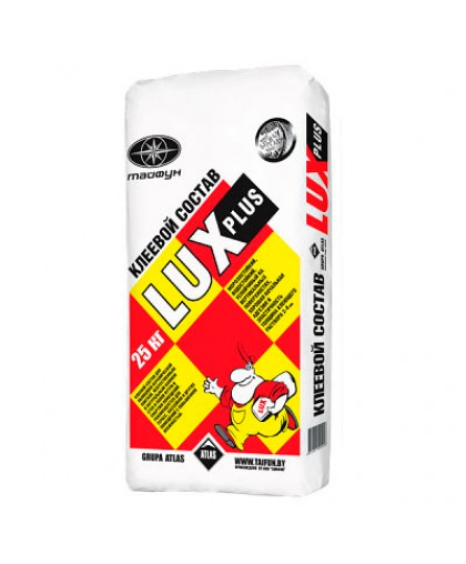 Клей для плитки Тайфун Люкс Плюс, 25 кг