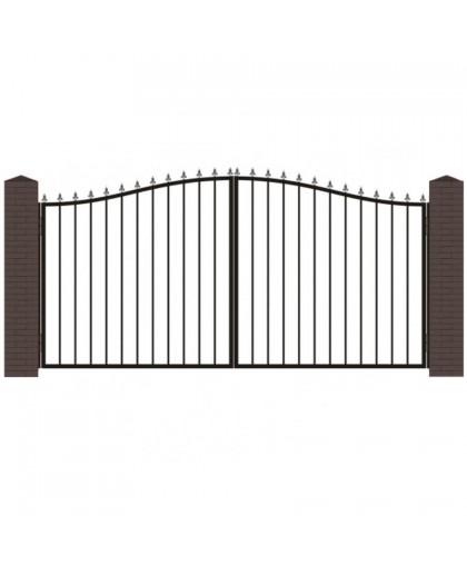 Кованые ворота В-2
