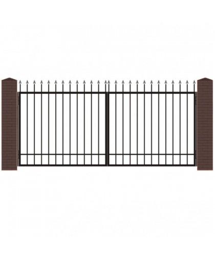 Кованые ворота В-1