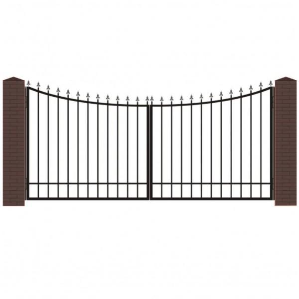 Кованые ворота В-3
