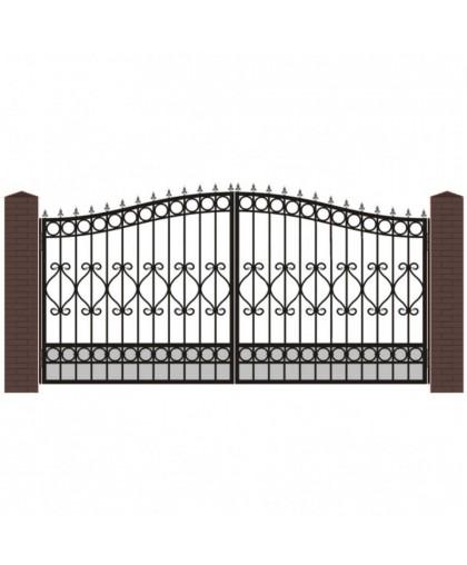 Кованые ворота В-6
