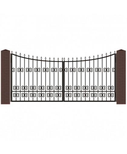 Кованые ворота В-4