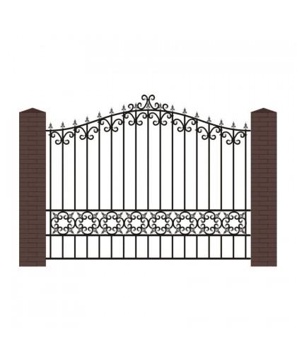 Кованый забор К-8