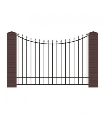 Кованый забор К-3