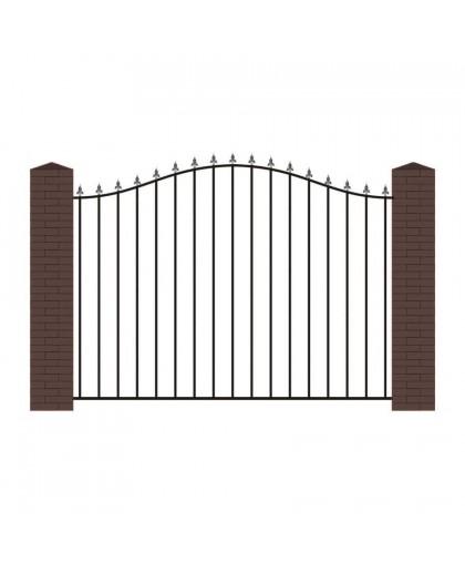 Кованый забор К-4
