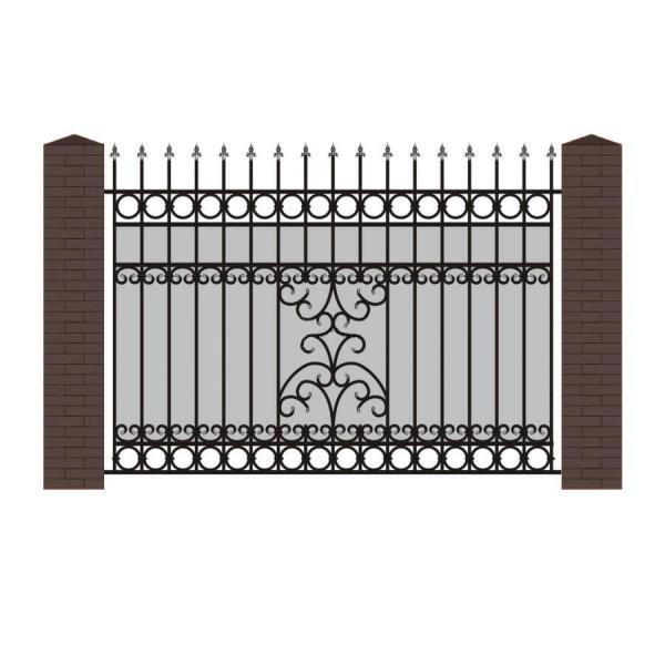 Кованый забор К-13