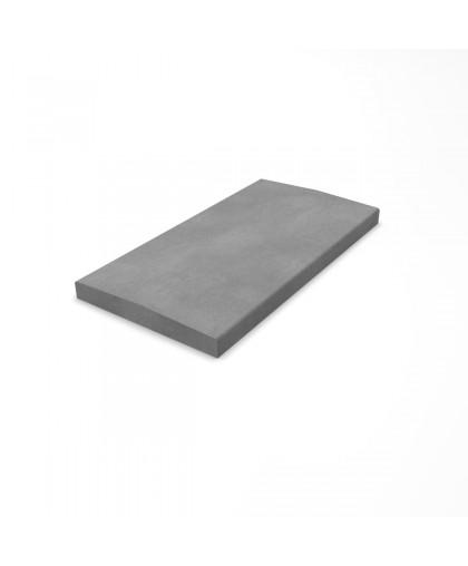 Крышка фундамента забора двускатная 260х500х35 мм