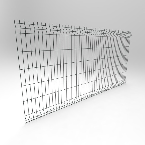 """3D забор """"Эконом""""  1230х2500х3,0/4,0 мм,  ячейка 200х50"""