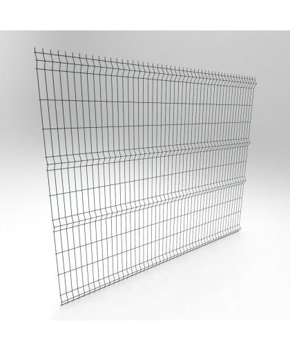 """3D забор """"Город"""" 2030х2500х4,0/4,0 мм,  ячейка 200х50"""
