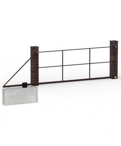 Каркас ворот откатных до 5 м